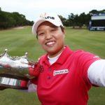 女子ゴルファー野村敏京【父親&母親の両親ではなく】意外な人物の影響でゴルフを始める